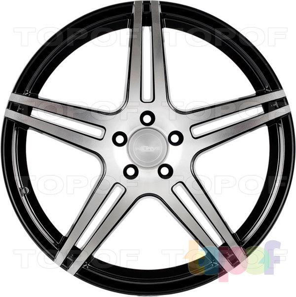 Колесные диски Incurve wheels IC-S5. Цвет machine gloss black