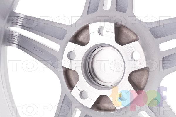 Колесные диски Incurve wheels IC-S5. внутренняя сторона диска
