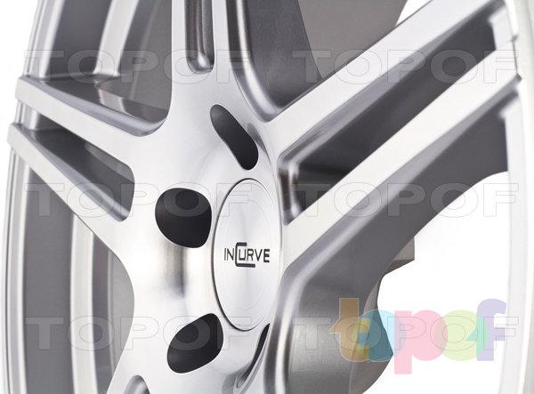 Колесные диски Incurve wheels IC-S5. вид сборку