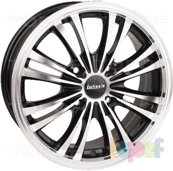 Колесные диски iWheelz Spyke. Изображение модели #1