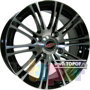 Колесные диски JD Wheels JD-1108. Изображение модели #1