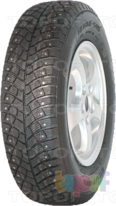 Шины KAMA Кама 515. Зимняя шипуемая шина для легковых автомобилей
