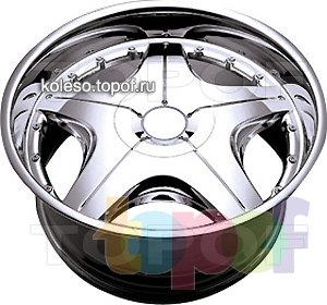 Колесные диски Kaotik Ceo 8. Изображение модели #1