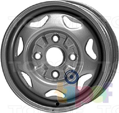 Колесные диски KFZ 2200. Изображение модели #1