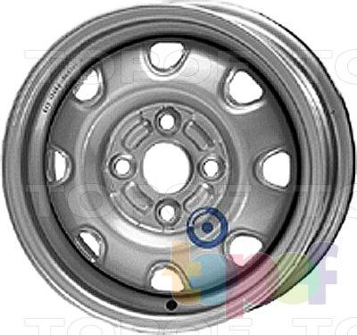 Колесные диски KFZ 2230. Изображение модели #1