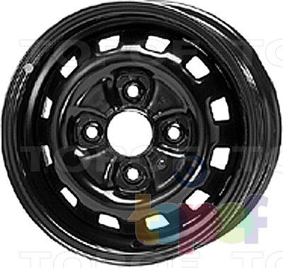 Колесные диски KFZ 2260. Изображение модели #1