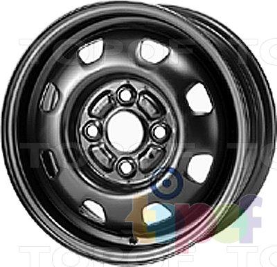 Колесные диски KFZ 2270. Изображение модели #1