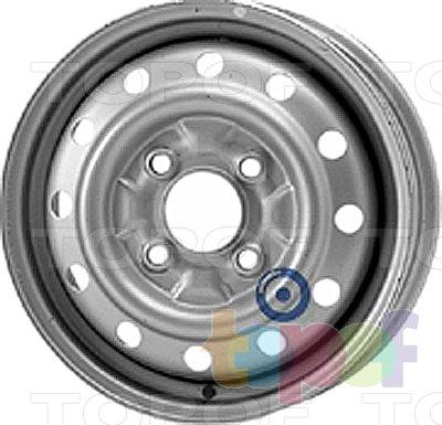Колесные диски KFZ 2350. Изображение модели #1