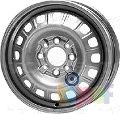 Колесные диски KFZ 2390. Изображение модели #1