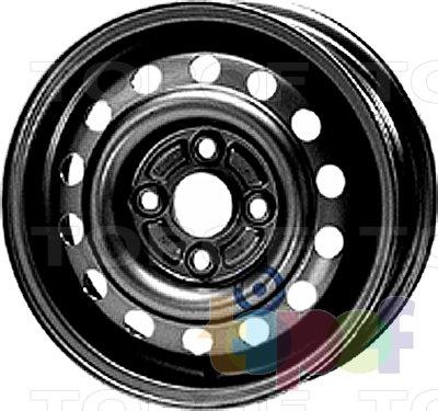 Колесные диски KFZ 2420. Изображение модели #1
