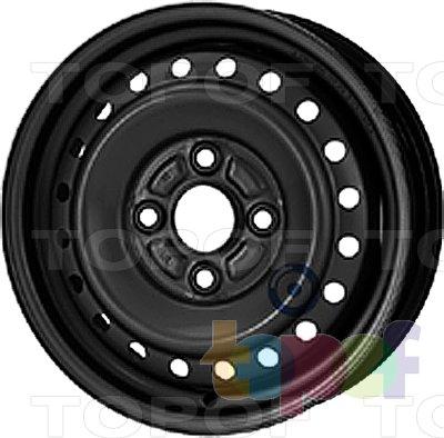 Колесные диски KFZ 2430. Изображение модели #1