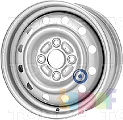 Колесные диски KFZ 2440. Изображение модели #1