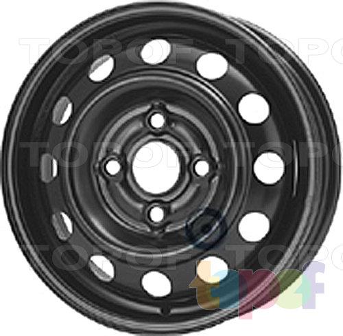 Колесные диски KFZ 2491. Изображение модели #1