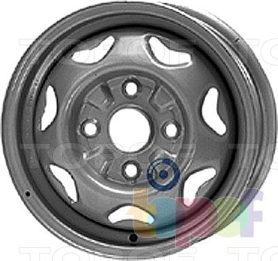 Колесные диски KFZ 2755. Изображение модели #1