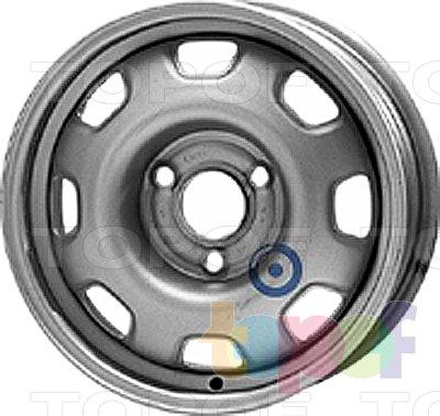 Колесные диски KFZ 2800. Изображение модели #1