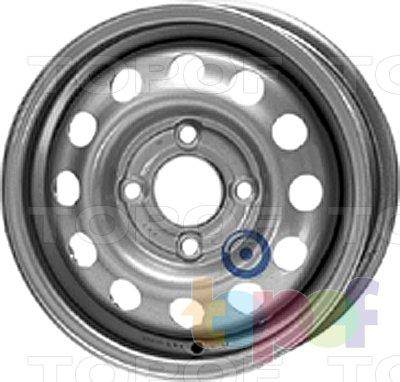 Колесные диски KFZ 2850. Изображение модели #1