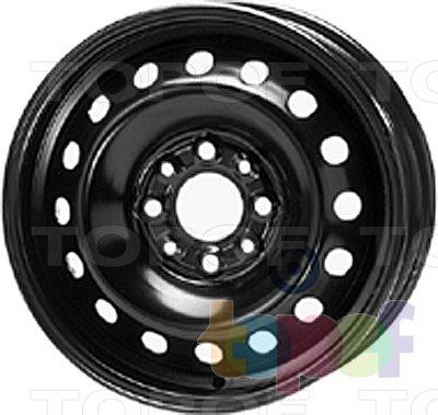 Колесные диски KFZ 2870. Изображение модели #1