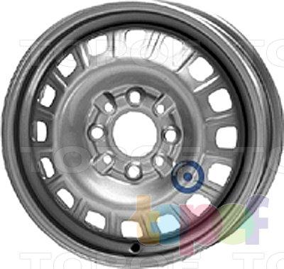 Колесные диски KFZ 2940. Изображение модели #1