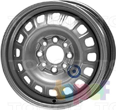 Колесные диски KFZ 2990. Изображение модели #1