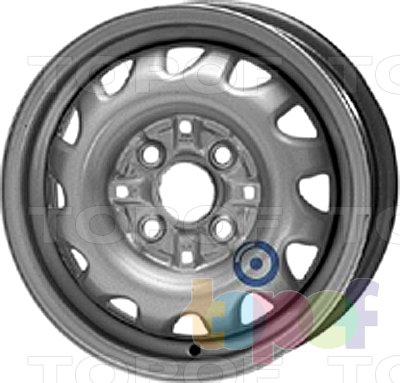 Колесные диски KFZ 3070. Изображение модели #1
