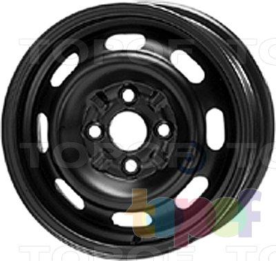 Колесные диски KFZ 3300. Изображение модели #1