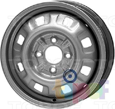 Колесные диски KFZ 3335. Изображение модели #1