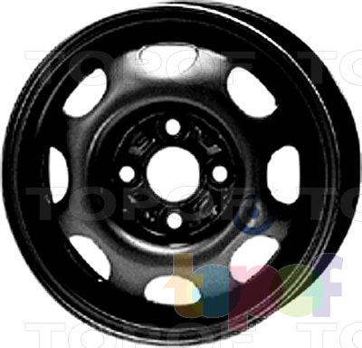 Колесные диски KFZ 3345. Изображение модели #1