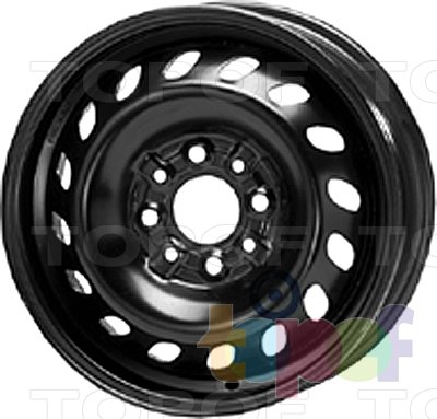 Колесные диски KFZ 3450. Изображение модели #1
