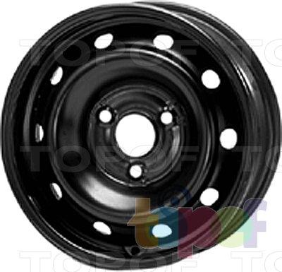 Колесные диски KFZ 3480. Изображение модели #1