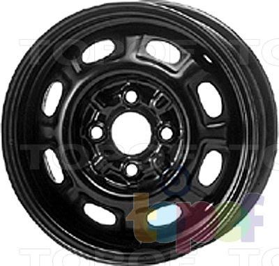 Колесные диски KFZ 3510. Изображение модели #1
