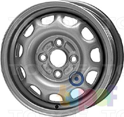 Колесные диски KFZ 3540. Изображение модели #1