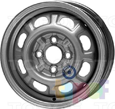 Колесные диски KFZ 3610. Изображение модели #1