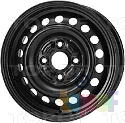 Колесные диски KFZ 3660. Изображение модели #1