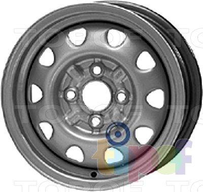 Колесные диски KFZ 3700. Изображение модели #1