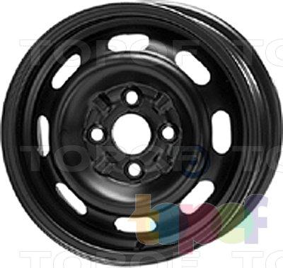 Колесные диски KFZ 3770. Изображение модели #1