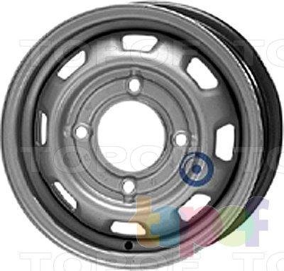 Колесные диски KFZ 3795. Изображение модели #1