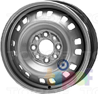 Колесные диски KFZ 3830. Изображение модели #1