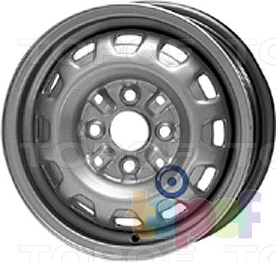 Колесные диски KFZ 3845. Изображение модели #1