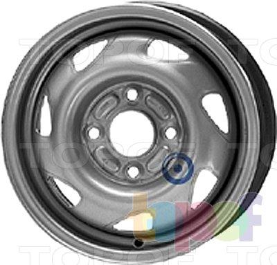 Колесные диски KFZ 3890. Изображение модели #1