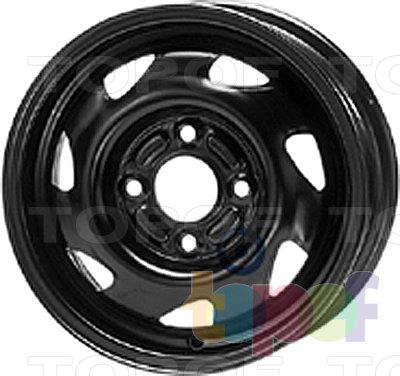 Колесные диски KFZ 3895. Изображение модели #1