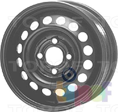 Колесные диски KFZ 3900. Изображение модели #1