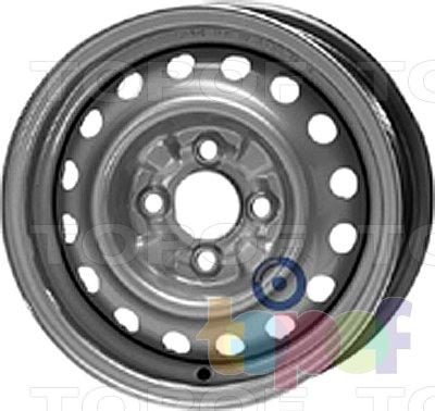 Колесные диски KFZ 3910. Изображение модели #1