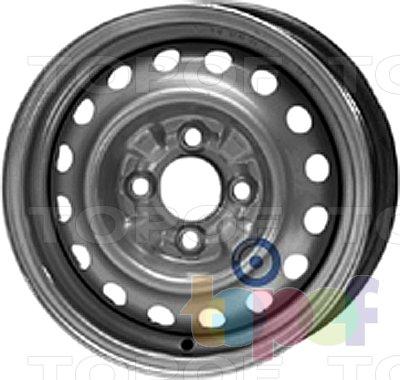 Колесные диски KFZ 3920. Изображение модели #1