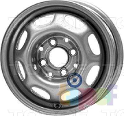 Колесные диски KFZ 3950. Изображение модели #1
