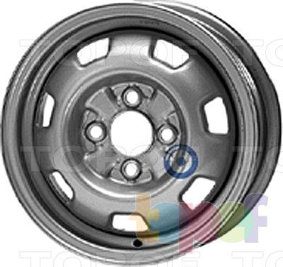 Колесные диски KFZ 3960. Изображение модели #1