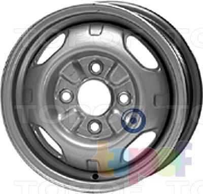 Колесные диски KFZ 3970. Изображение модели #1