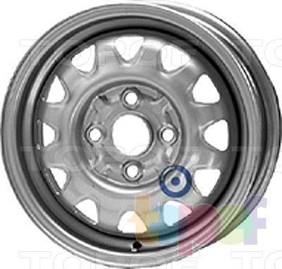 Колесные диски KFZ 4000. Изображение модели #1