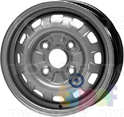 Колесные диски KFZ 4015. Изображение модели #1