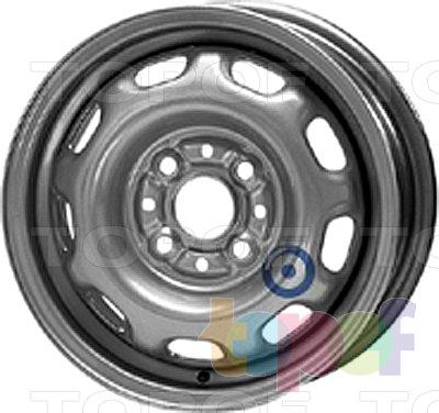 Колесные диски KFZ 4125. Изображение модели #1