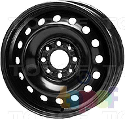 Колесные диски KFZ 4160. Изображение модели #1